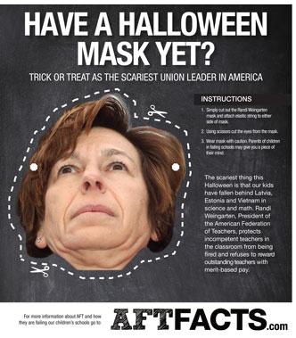 Trick or Treat as the scariest Union Leader in America - Randi Weingarten