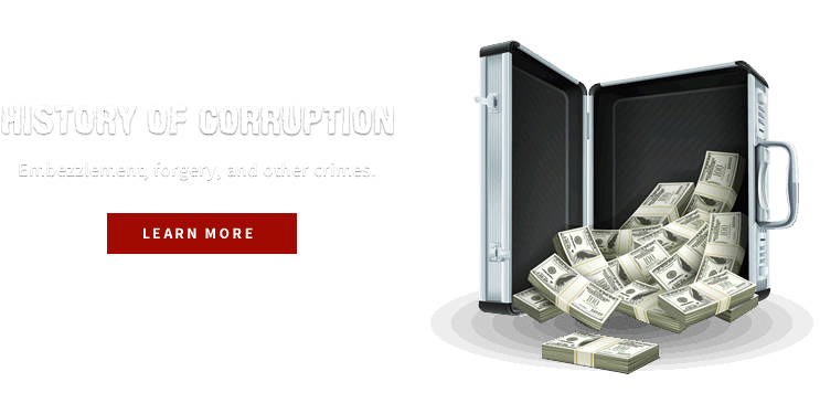 A history of corruption.