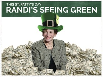 Randi's Seeing Green
